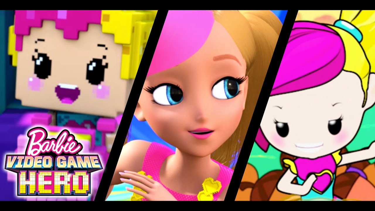 Barbie video game hero official full trailer barbie youtube sciox Images