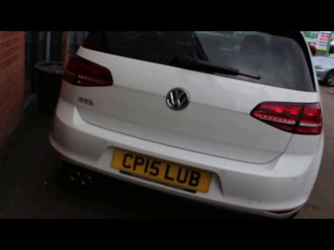 VW Golf GTD Finished In Pure White At Rix Motor Company