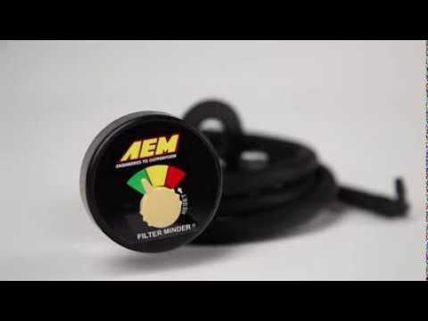 AEM Filter Minder Restriction Gauge -- Pep Boys