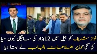 Samsam Bukhari on why Nawaz was given an expensive bicycle in jail