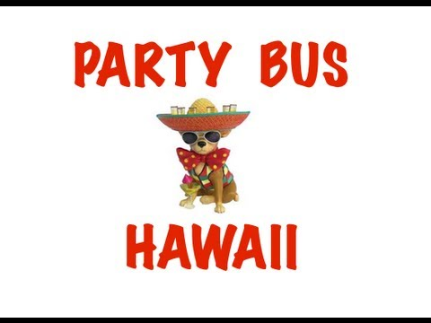 Party Bus Rental in Hawaii - Honolulu, Pearl City, Hilo, Kailua, Waipahu