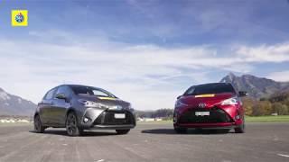 Test de comparaison Toyota Yaris hybrid et essence