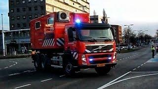 Zeer grote inzet hulpdiensten bij Treinongeval op het Reitseplein in Tilburg - 06-03-2015
