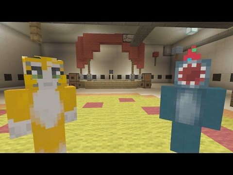 Minecraft Xbox - Stampy visits Five Nights at Freddy's