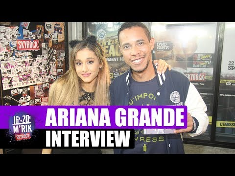 Interview Ariana Grande by M'Rik [Skyrock]