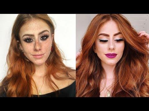 Makeup Tutorials Compilation 2018 | Makeup Secrets for Girls with Brushes-Part#43
