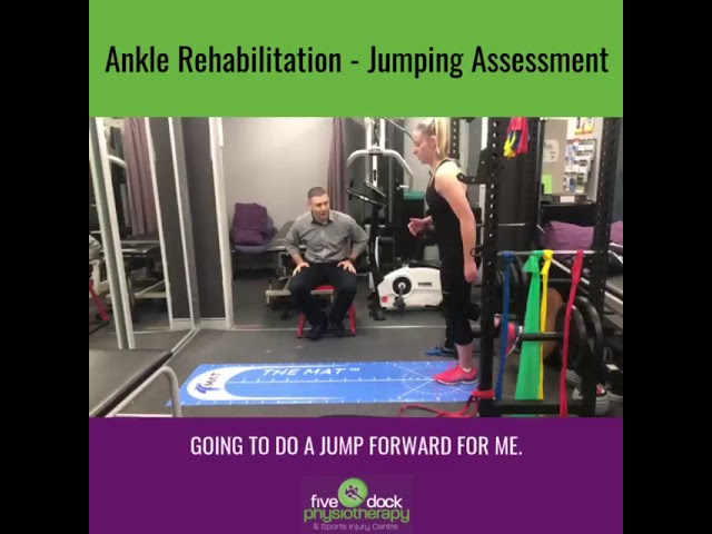 Injured your ankle but want to get back to sport?