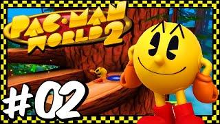 Pac-Man World 2 - Part 2 - Explore The B-Doing Woods!