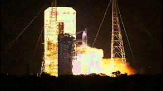 LIFTOFF of the Delta IV medium rocket carrying the GPS IIF-2 satellite