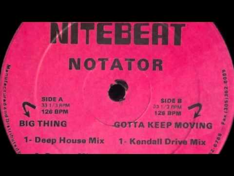 Notator big thing deep house mix youtube for 90 s deep house music playlist