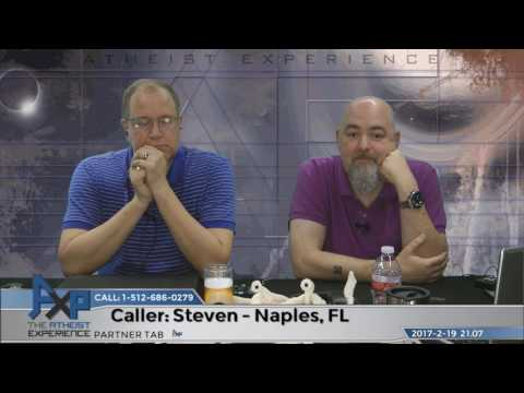 God Can't Reveal Himself & Near-Death Experiences   Steven - Naples, FL   Atheist Experience 21.07