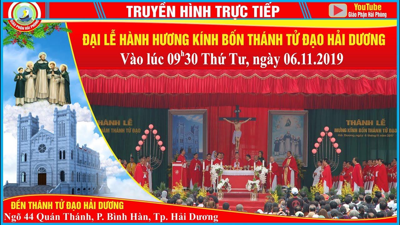 Trực tiếp: Đại Lễ Hành Hương Kính Bốn Thánh...