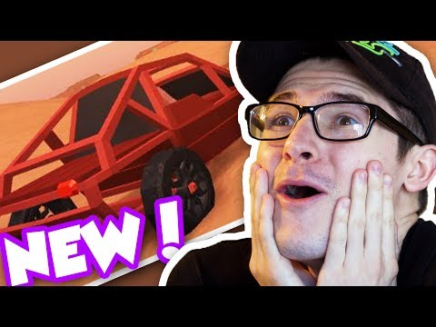 BRAND NEW DUNE BUGGY UPDATE IN ROBLOX JAILBREAK!! TIRE POPPING AND DONUT SHOP! (Roblox Jailbreak)