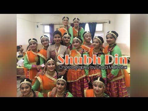 Shubh Din  SDVM senior secondary school   Annual function 2018  Choreography by Divya Malhotra
