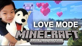 รีวิวเกมส์ Minecraft การใช้ Love Mode