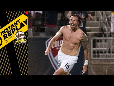 A RED CARD FOR A GOAL CELEBRATION? | Instant Replay