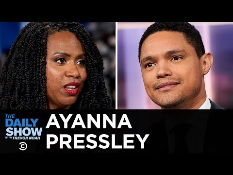 Ayanna Pressley - The Urgency of Gun Control and Trump's Immigration Cruelty | The Daily Show