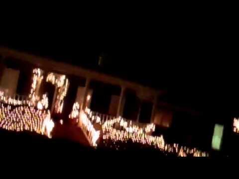 Luminaries on Christmas Eve 2011