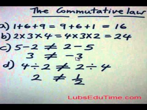 DLubin performing new Commutative law