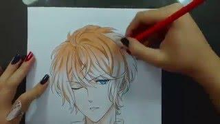 Speed Drawing - Sakamaki Shuu (Diabolik Lovers)