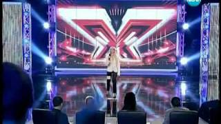 X Factor Bulgaria - worst voice and falling off stage - Epic Fail