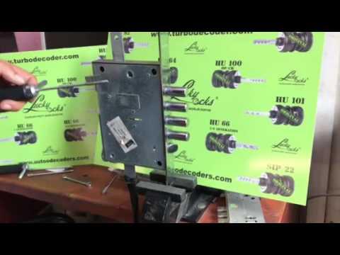 Самоимпрессия ATRA   Atra Dierre apertura con grimaldello bulgaro modificato (apertura serrature Atra - Dierre 6 in 1 con grimaldello bulgaro automatico.Il prodo