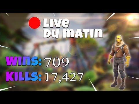 [FR/PC/LIVE] Fortnite  en solo 702 wins /  lvl 77  / 100