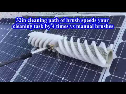 Rotating Brush Cleaning Tool  32in