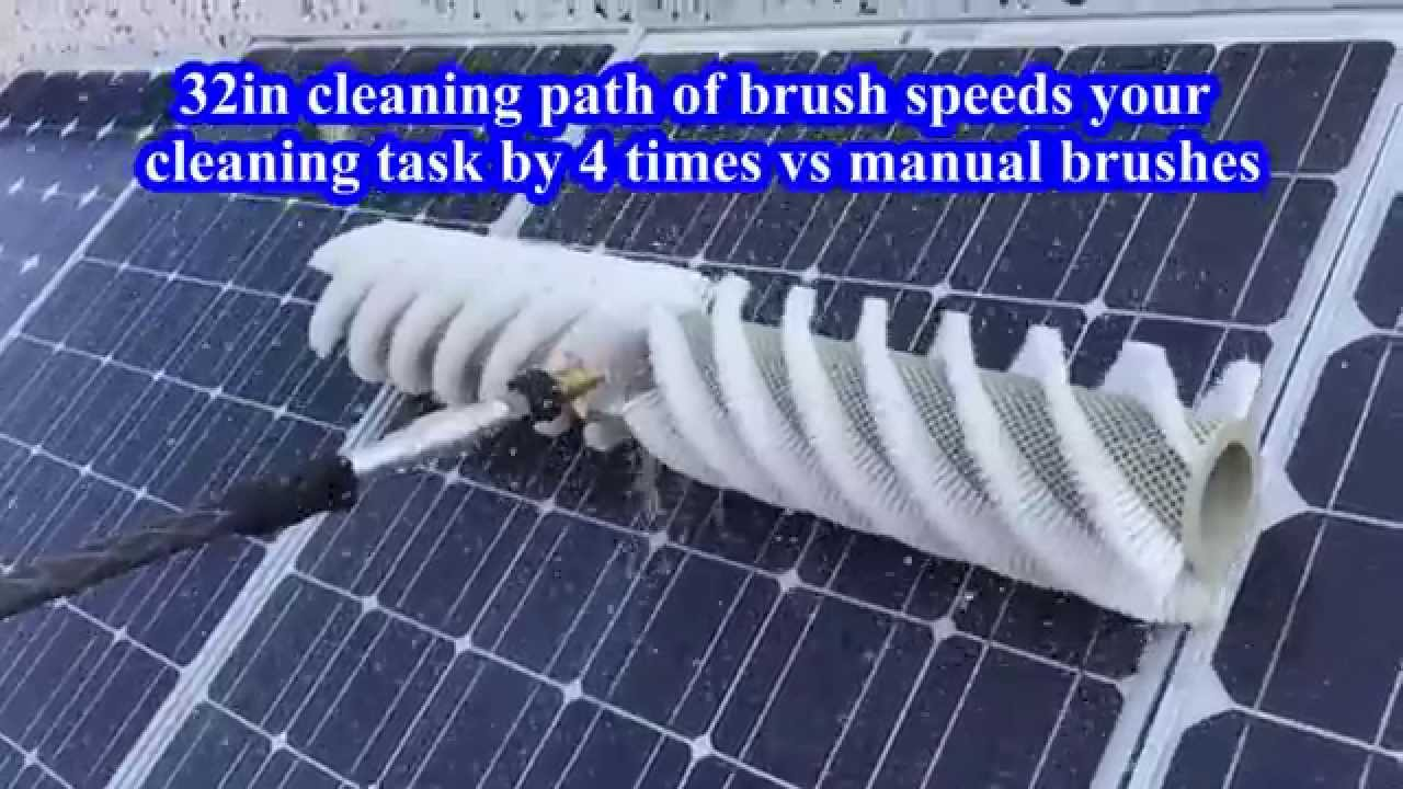 Rotating Brush Cleaning Tool 32in Youtube