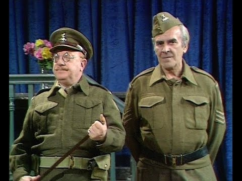 Dad's Army - Turkey Dinner - ... a Welshman, an Englishman and a Scotsman...