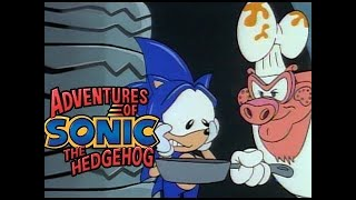 Adventure of Sonic the Hedgehog - Sonic Gets Thrashed | Cartoons for Children | Cartoon Super Heroes