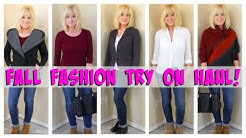 Fall Fashion Try On Haul!  Over 40!