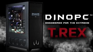 Custom Watercooled Gaming PC : DinoPC Carnivore Series T.REX - Unleash The Beast