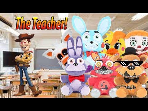 FNAF Plush School Episode 1: The Teacher!