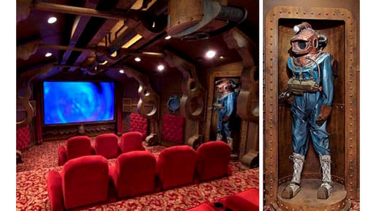 Dise o de sala de cine en casa youtube - Sala de cine en casa ...