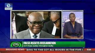 ChannelsTV Correspondent Gives Update As CCT Finds Onnoghen Guilty