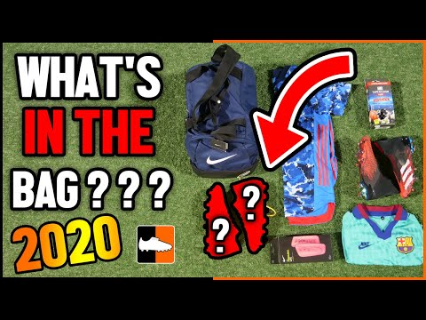 What To Take To Football ⚽ Ultimate 2020 Bag!