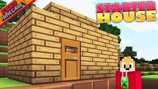 Minecraft | STARTER HOUSE | Bedrock Survival Realm [84]