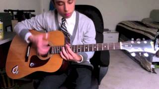 Alive w/ The Glory of Love (Acoustic Instrumental Cover)