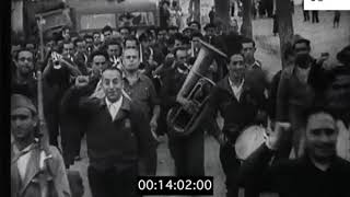 Nationalist Parades in 1930s Spain, Civil War, Documentary