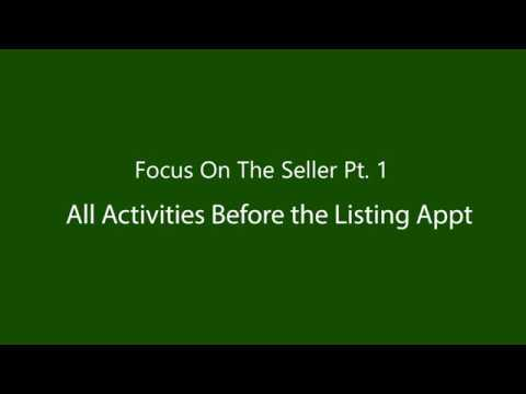 All Activities Before the Listing Appointment