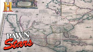 Pawn Stars: Rick SPENDS BIG on RARE 1650 MAP and ELTON JOHN'S BOOTS (Season 8) | History