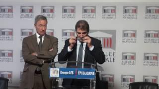 Conférence de Presse du Président Christian Jacob du 15/11/201
