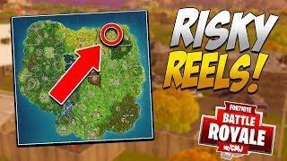 RISKY REELS AKA BEST DROP SPOT!? - Location Invasion #9 (Fortnite Battle Royale)