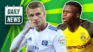 Neue Trainer für St.Pauli, FCA & Gladbach! Arp im Sommer zum FCB! Mega-Deal für BVB-Talent!