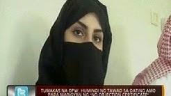 """Tumakas na OFW, humingi ng tawad sa dating amo para mabigyan ng """"No Objection Certificate"""""""