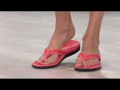 vionic-orthotic-leather-slide-sandals---santos-on-qvc