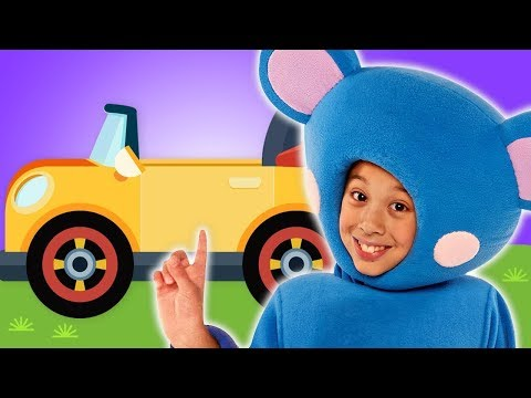 🔴 LIVE: Driving in My Car with Eep the Mouse & More | Mother Goose Club Nursery Rhymes for Kids
