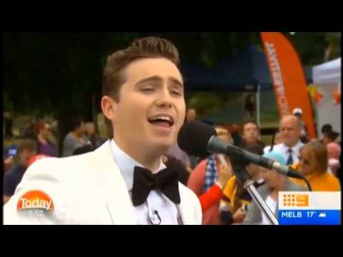 Harrison Craig Today Show (Ch 9 ) 12 May 2017