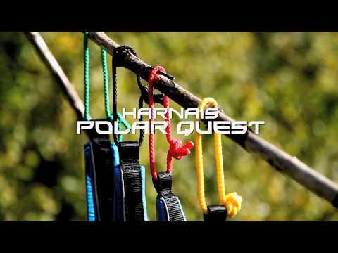 Inlandsis Polar Quest - harnais x-back canicross, cani-VTT et chien de traîneau
